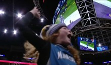 Minnesota Timberwolves Fans Went Crazy After Watching GW TD At Target Center (VIDEO)