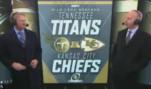 Sean McDonough Holds Back Tears As He Says Goodbye To Jon Gruden (VIDEO)