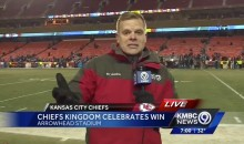 Unbelievable! Kansas City News Station Had No Clue The Chiefs Lost (VIDEO)