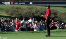 Tiger Woods Was Not Happy After Guy Yelled During His Back Swing; Fans Demand He Gets Thrown Out (VIDEO)