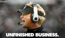 Oakland Raiders Officially Announce Jon Gruden Is Back As Head Coach