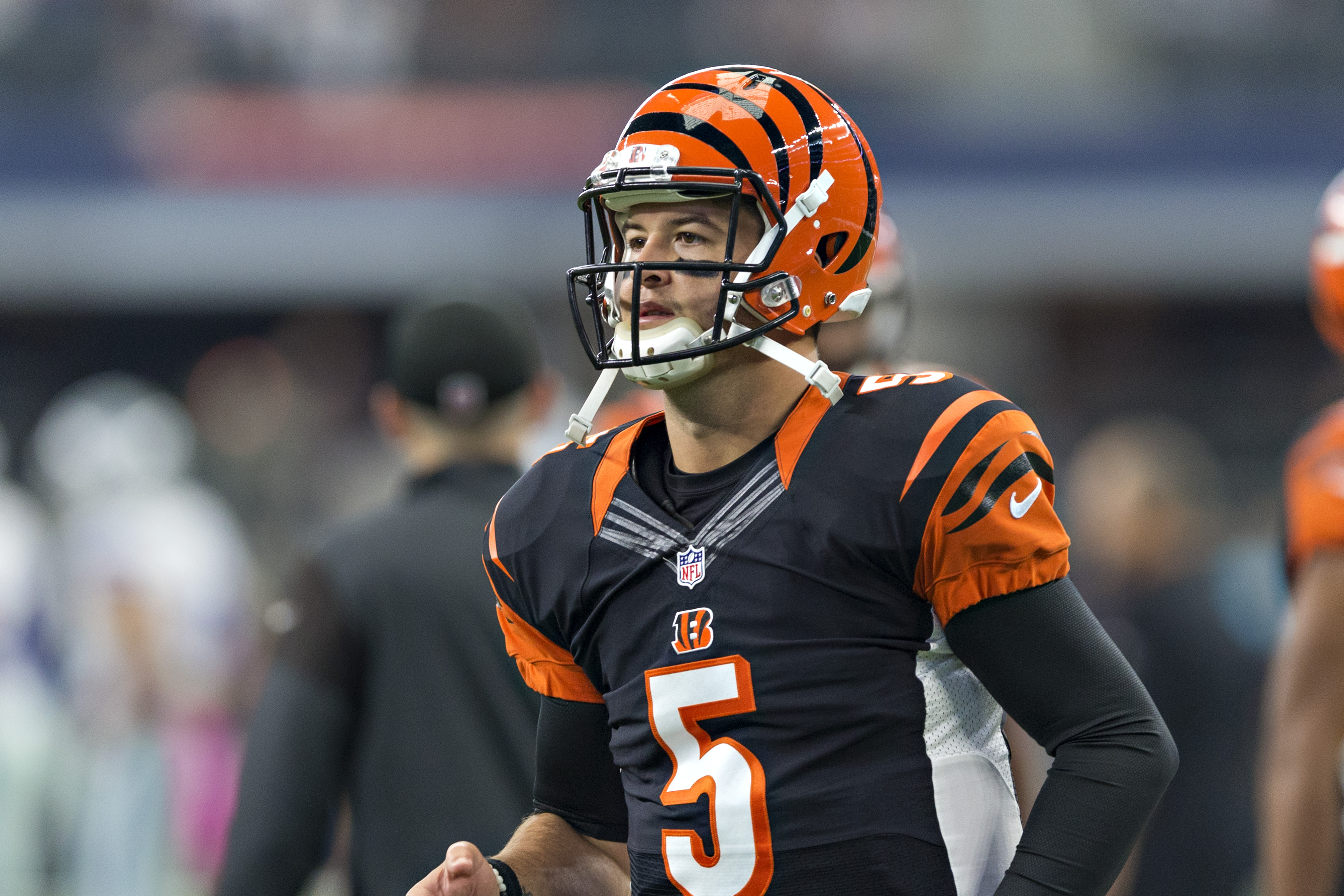 Bengals' AJ McCarron wins grievance, will become free agent