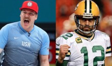 Gold Medal Curler Matt Hamilton Gives Hilarious Shoutout to New BFF Aaron Rodgers (VIDEO + TWEETS)