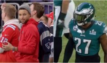Malcolm Jenkins Called Steph Curry A ' Front-Runner' After Seeing Him On Patriots Sideline (VIDEO)