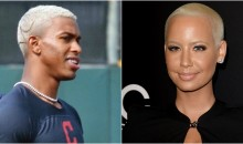 Indians Are Putting Pics of Amber Rose in Clubhouse To Mock Francisco Lindor's New Haircut