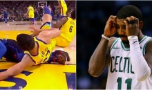 Kyrie Irving Wants Something Done To Zaza Pachulia Because of His Dirty Play on The Court (PIC)