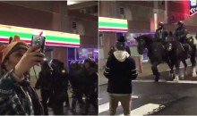 Eagles Fan Takes Selfie With Riot Police After They Show Up (VIDEO)