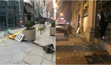 Footage Shows The Destruction Left Over By Eagles Fans In Philadelphia After Super Bowl Win (VIDEO)