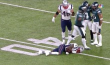 Patriots WR Brandin Cooks Gets Knocked Unconscious By Eagles' Malcolm Jenkins (VIDEO)