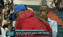 After Embarrassing Her Son & Walking Off, Copeland's Mom Comes Back To Hug Him (VIDEO)