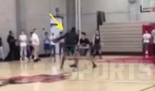 Dwight Howard Plays Pick-Up Ball with College Kids, Gets Dominated (Video)
