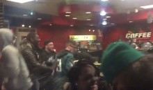 """Eagles Fans Trash Gas Station, Chant """"Everything Is Free"""" (VIDEO)"""