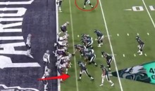 Was The Eagles' Trick-Play Touchdown Actually An Illegal Formation? (PIC)