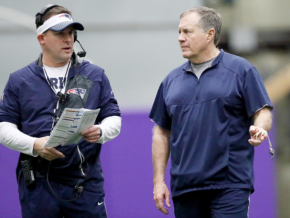 McDaniels gives Patriots possible Belichick successor