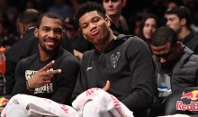 Giannis Antetokounmpo Got a Very NSFW Valentine's Day Gift From GF (VIDEO)