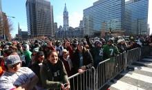 Female Fan Returns To Being A Giants Fan After Celebrating Super Bowl As An Eagles Fan (PICS)