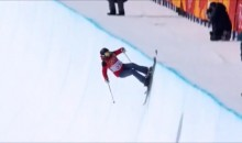 Hungarian Freestyle Skier's Halfpipe Run Will Leave You Crying Of Laughter (VIDEO)