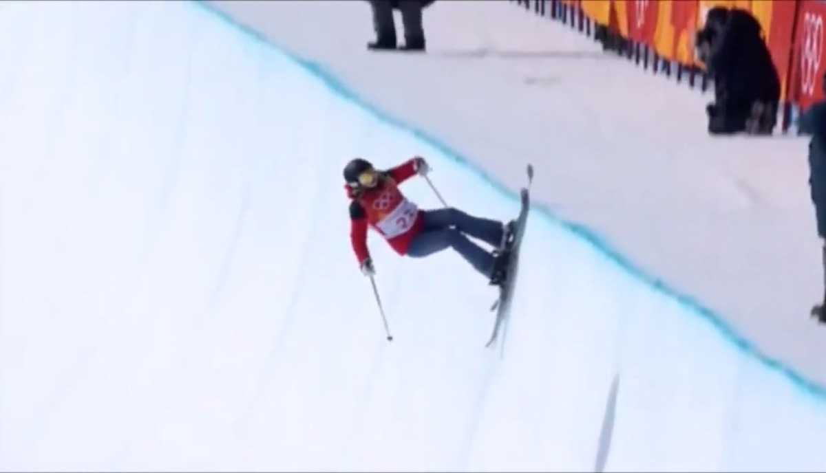 Olympic Half-Pipe Hero Doesn't Know How To Do Any Tricks