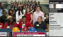 Jacob Copeland's Mother Storms Out of Presser After He Commits To Florida (VIDEO)