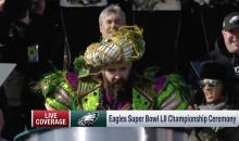 Jason Kelce's NSFW Super Bowl Parade Speech is a MUST-SEE (VIDEO)