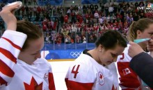 Canada's Jocelyne Larocque Immediately Removes Silver Medal After Losing To U.S. (VIDEO)