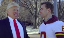 Kirk Cousins Starred in Hilarious Local Super Bowl Commercial With Fake Donald Trump (VIDEO)