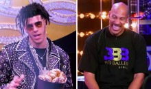 "Lonzo Ball Does ""Bad And Boujee"" in Lip Sync Battle vs. LaVar (VIDEOS)"