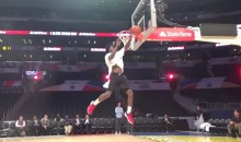Could This Unseen Dunk Have Won Victor Oladipo The NBA Dunk Contest? (VIDEO)