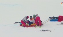 Japanese Snowboarder Stretchered Off After Nasty Halfpipe Crash At Olympics (VIDEOS)