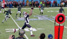 Patriots Fail To Convert A Pass To Tom Brady Who Dropped The Ball (VIDEO)