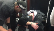 Carson Wentz Was Extremely Emotional After The Eagles Won The Super Bowl (VIDEO)