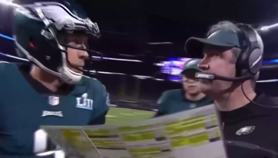 Eagles Ran the Same Trick Play That Nick Foles's High School Used