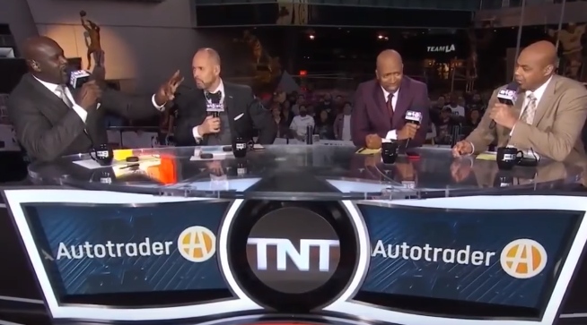 Charles Barkley claims to have played an National Basketball Association game drunk