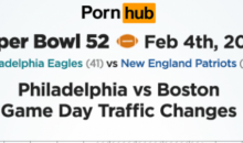 Patriots Fans Turned To Pornhub To Deal With Pain of Losing Super Bowl (PIC)