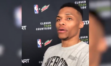 Russell Westbrook Says There's No Question That In-N-Out is Better Than Whataburger (VIDEO)