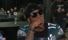 Eagles' Alshon Jeffrey Gave Zero F*cks About Justin Timberlake, The Media During Epic Interview (VIDEO)