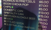 Prices For Food & Drinks At U.S. Bank Stadium Are Through The Roof For The Super Bowl (PICS)