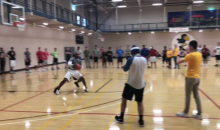 Jay Williams Got Embarrassed In 1-on-1 Game Against Kansas Football Player (VIDEO)