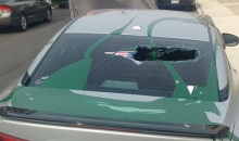 Patriots Fan Learned The Hard Way Not To Park Car In Philadelphia (PICS)