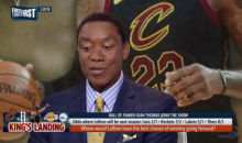 Isiah Thomas Says LeBron Should Sign With The Golden State Warriors This Offseason (VIDEO)