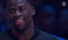 Draymond Green Laughed Hysterically At Fergie As She Butchered The National Anthem (VIDEO)