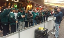 Security At Mall of America Threatening To Kick Eagles Fans Out For Chanting Too Much