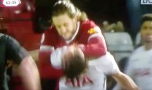 Liverpool Player Uses Rehab Game as Opportunity to Strangle Opponent (VIDEO)