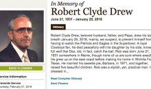 Cowboys Fan Makes Hilarious Claim About Dez Bryant In His Obituary (PIC)
