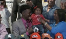 Sad Baby Bursts Into Tears After 4-Star Recruit Committed To Georgia (VIDEO)