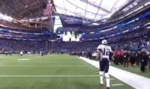 Eagles Fans Boo'd The Hell Out of Tom Brady When He Hit The Field (VIDEO)