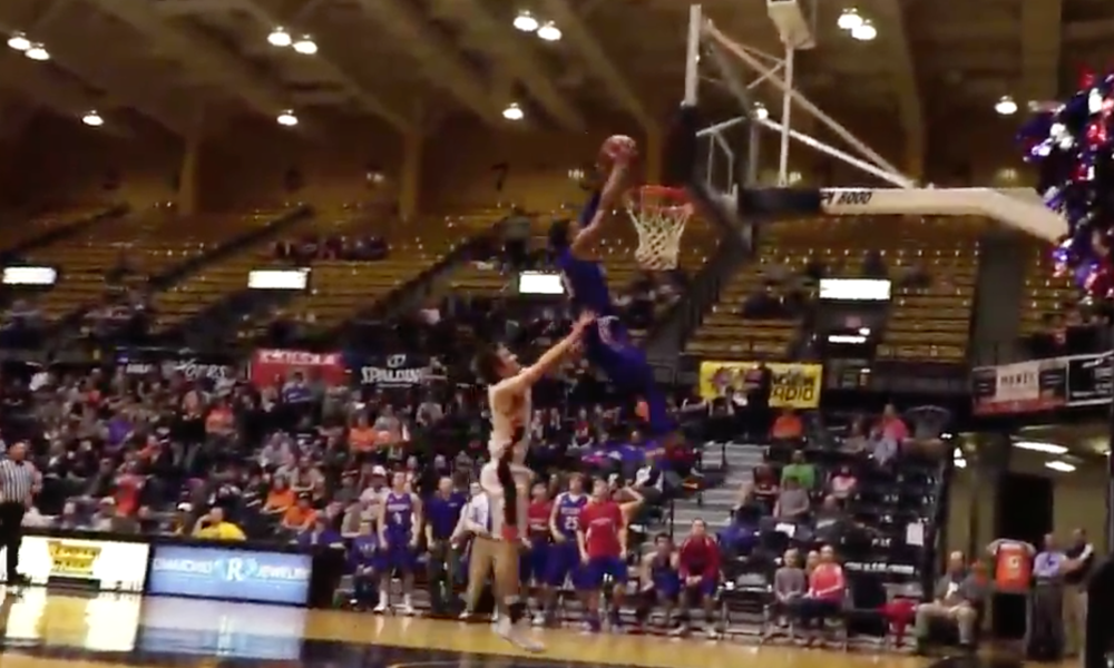 Kansas high school player commits the dirtiest foul you'll ever see