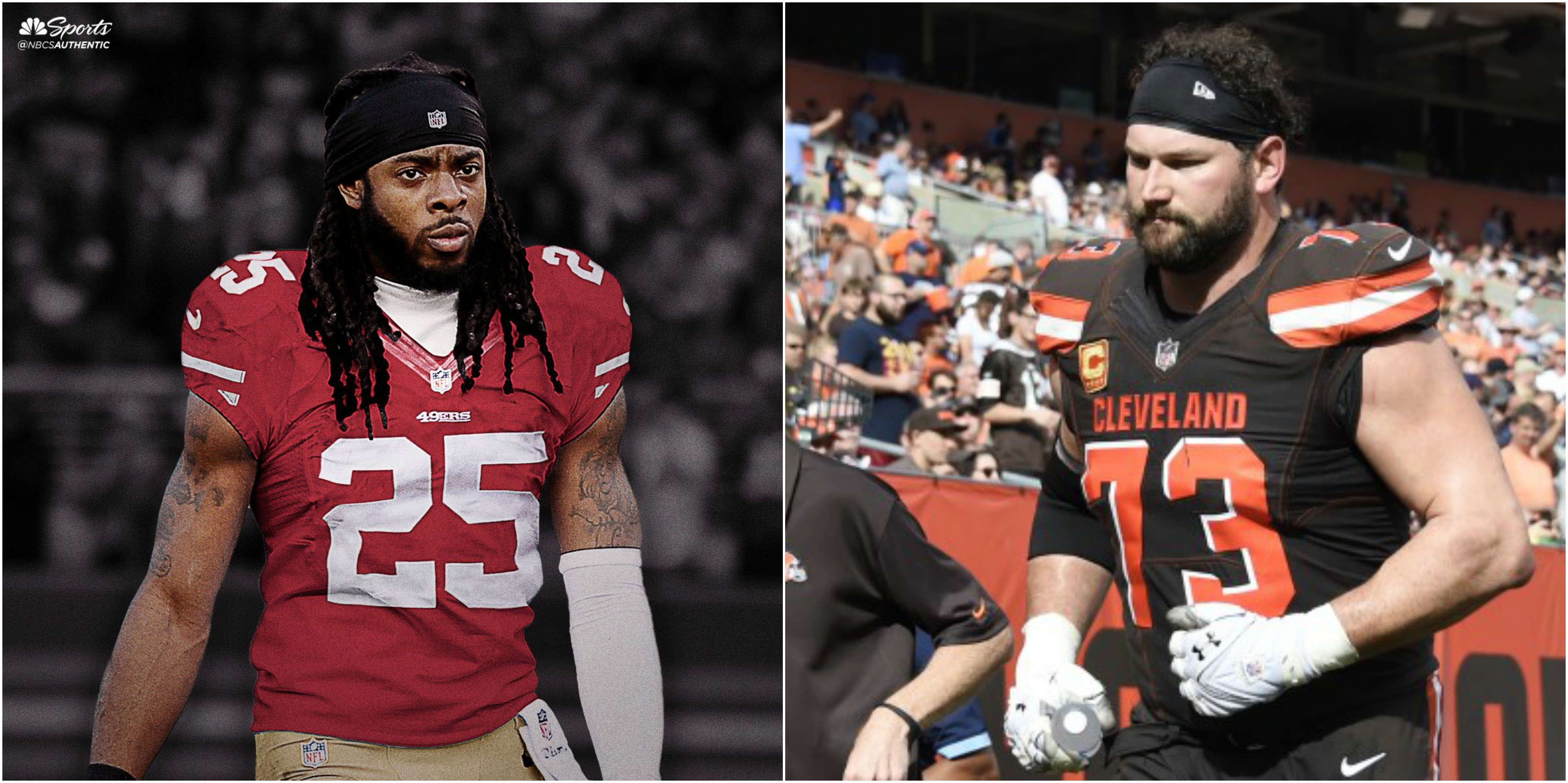 online store 2478c 97e34 Richard Sherman Fires Back At Joe Thomas For Ripping His ...