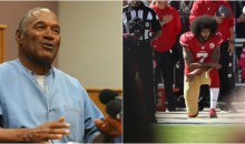 O.J Simpson Agrees With Trump; Says Kaepernick Made A Mistake 'Attacking The Flag'