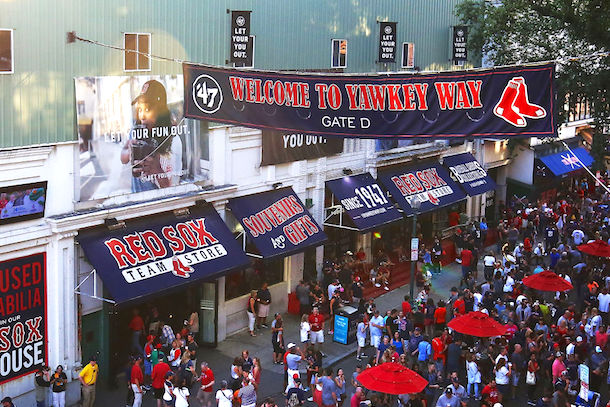 Red Sox propose name change for Yawkey Way